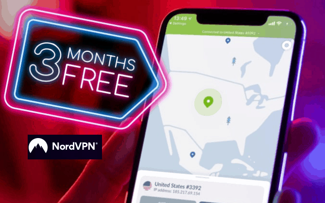 Three months free-NordVPN