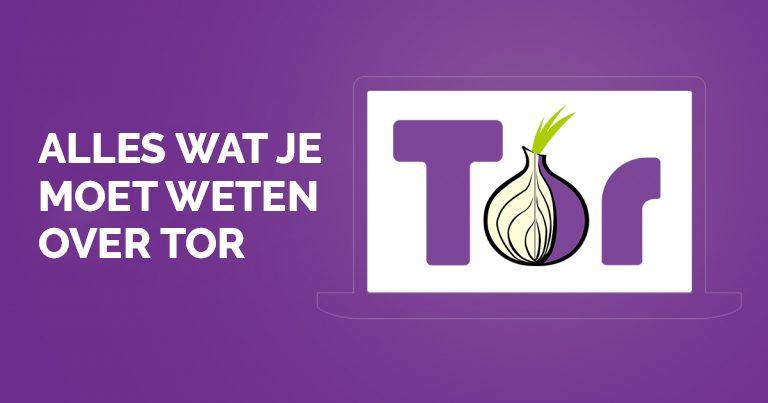 Alles over Tor browser
