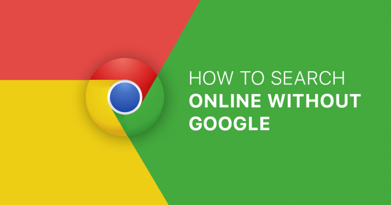 How to search online without Google