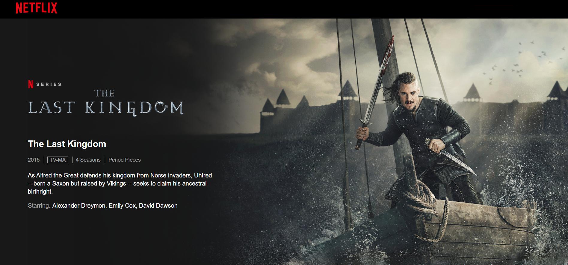 Netflix The Last Kingdom